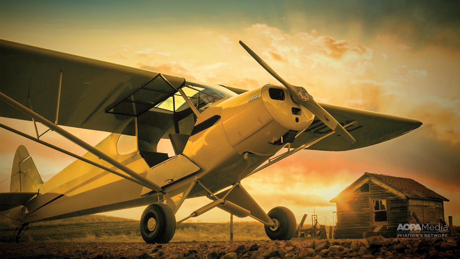 Piper PA 18 Super Cub 1920x1080