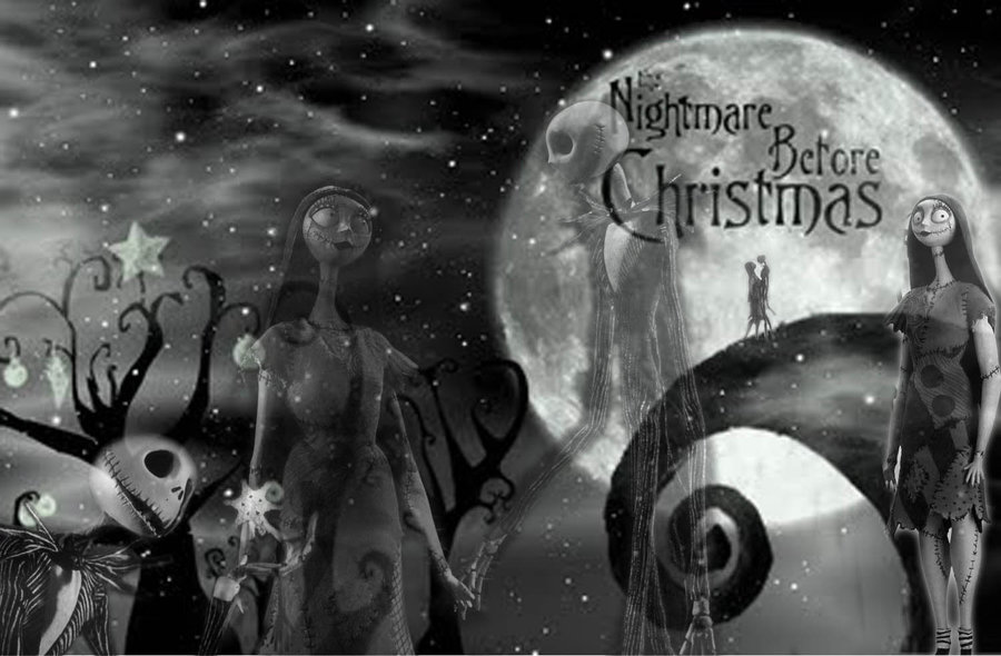 Happy Christmas 2013 Nightmare Before Christmas Wallpaper 900x590