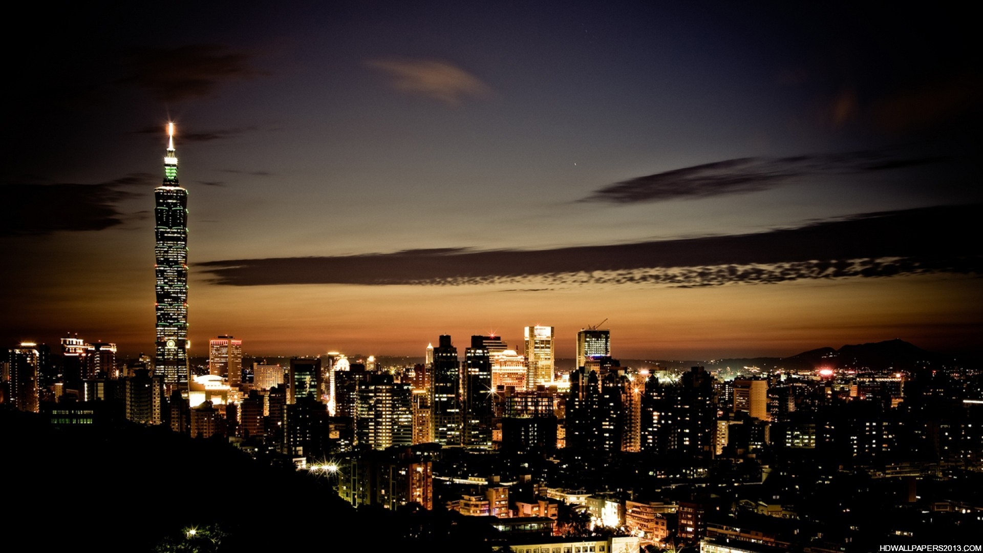 City wallpaper at night High Definition Wallpapers High Definition 1920x1080