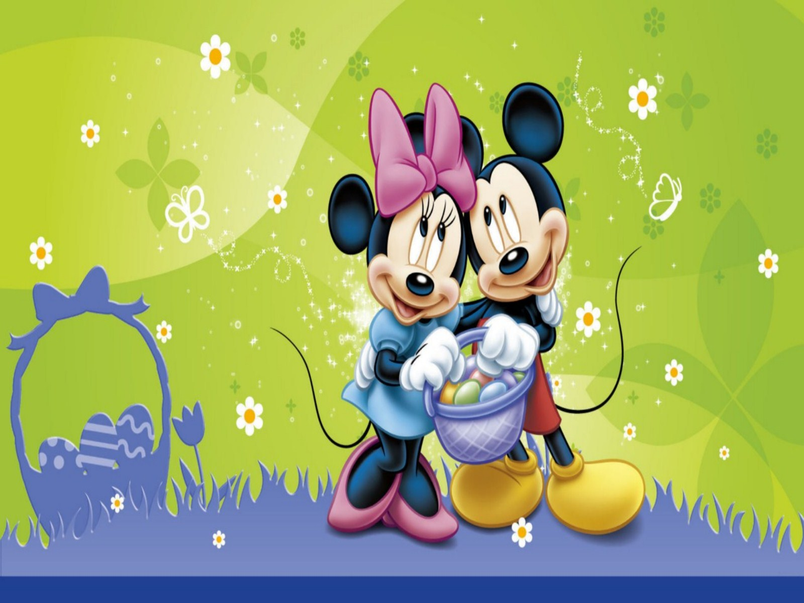 Mickey Mouse Easter Desktop Wallpaper - WallpaperSafari