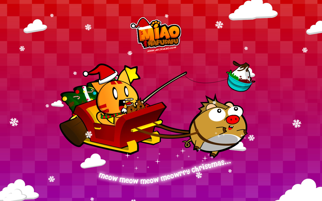 Cute Christmas Wallpaper For Iphone 1280x800