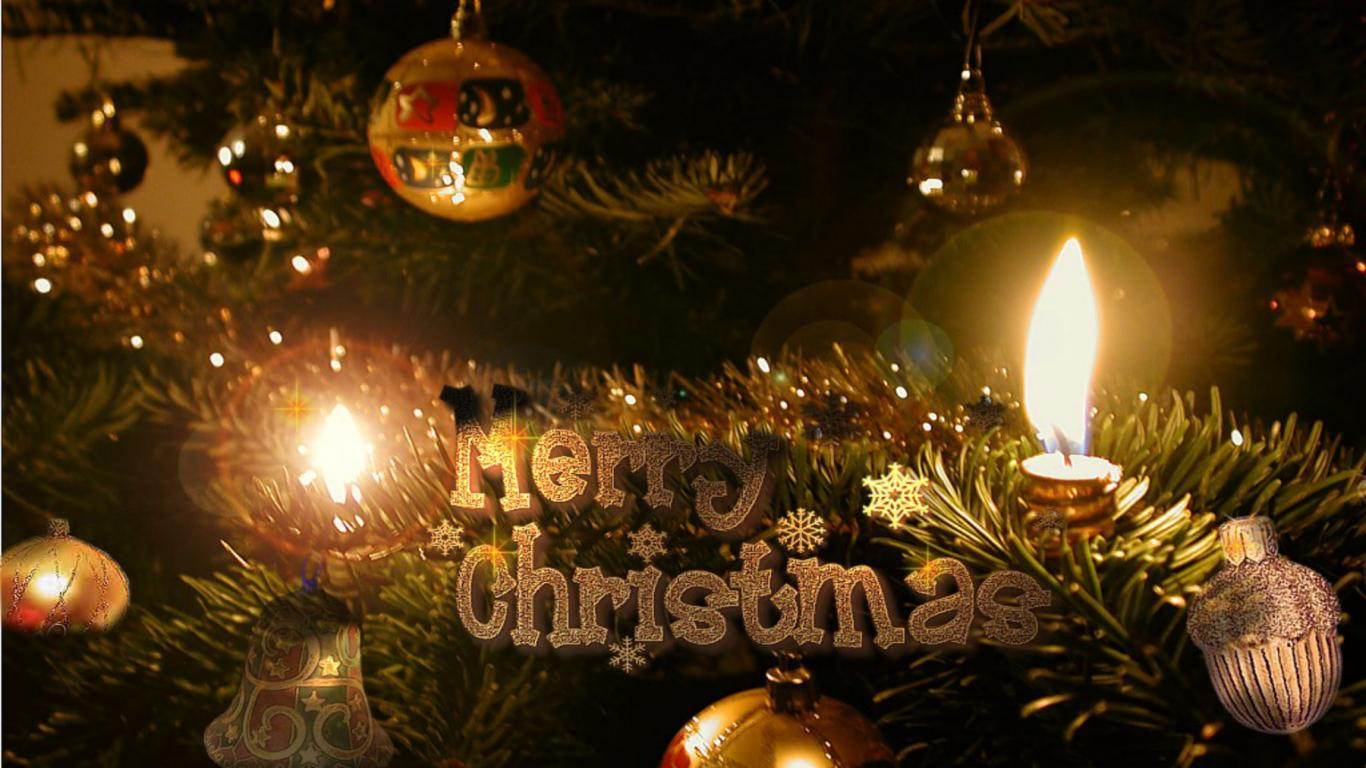 Christmas 3D Wallpapers Wallpapers9 1366x768