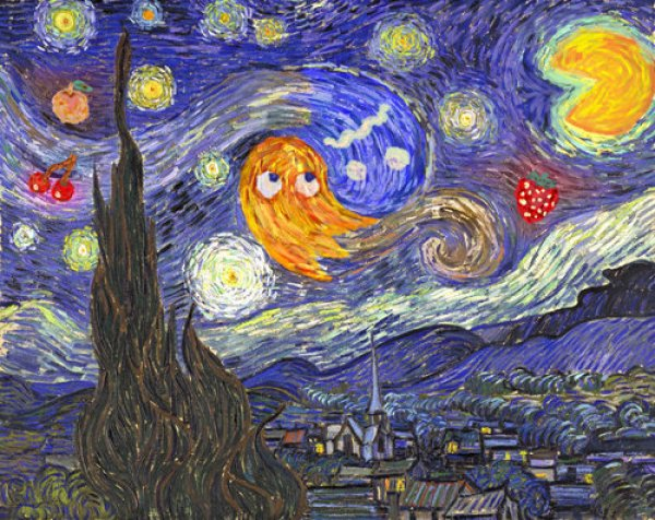 Starry Night at the Arcade - Dorkly Post