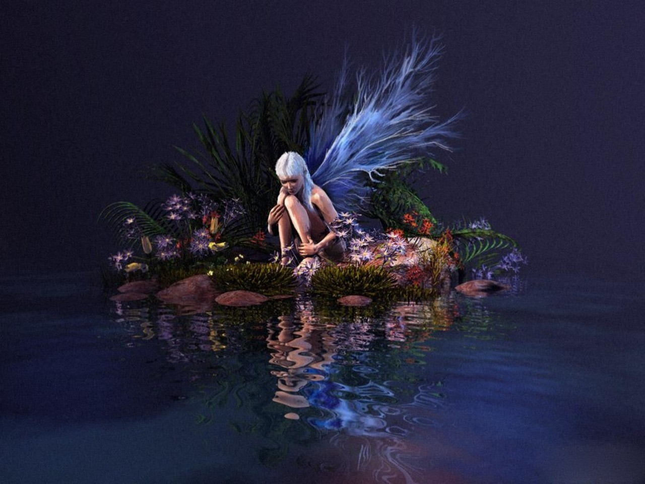 troubled fairy Wallpaper Background 28009 1280x960