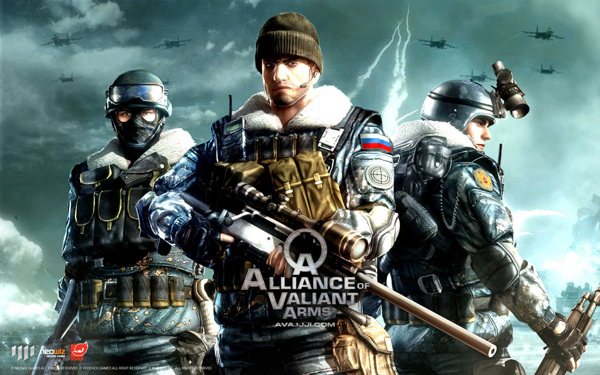 Wallpaper 2 Wallpaper from AVA Alliance of Valiant Arms 1920x1200