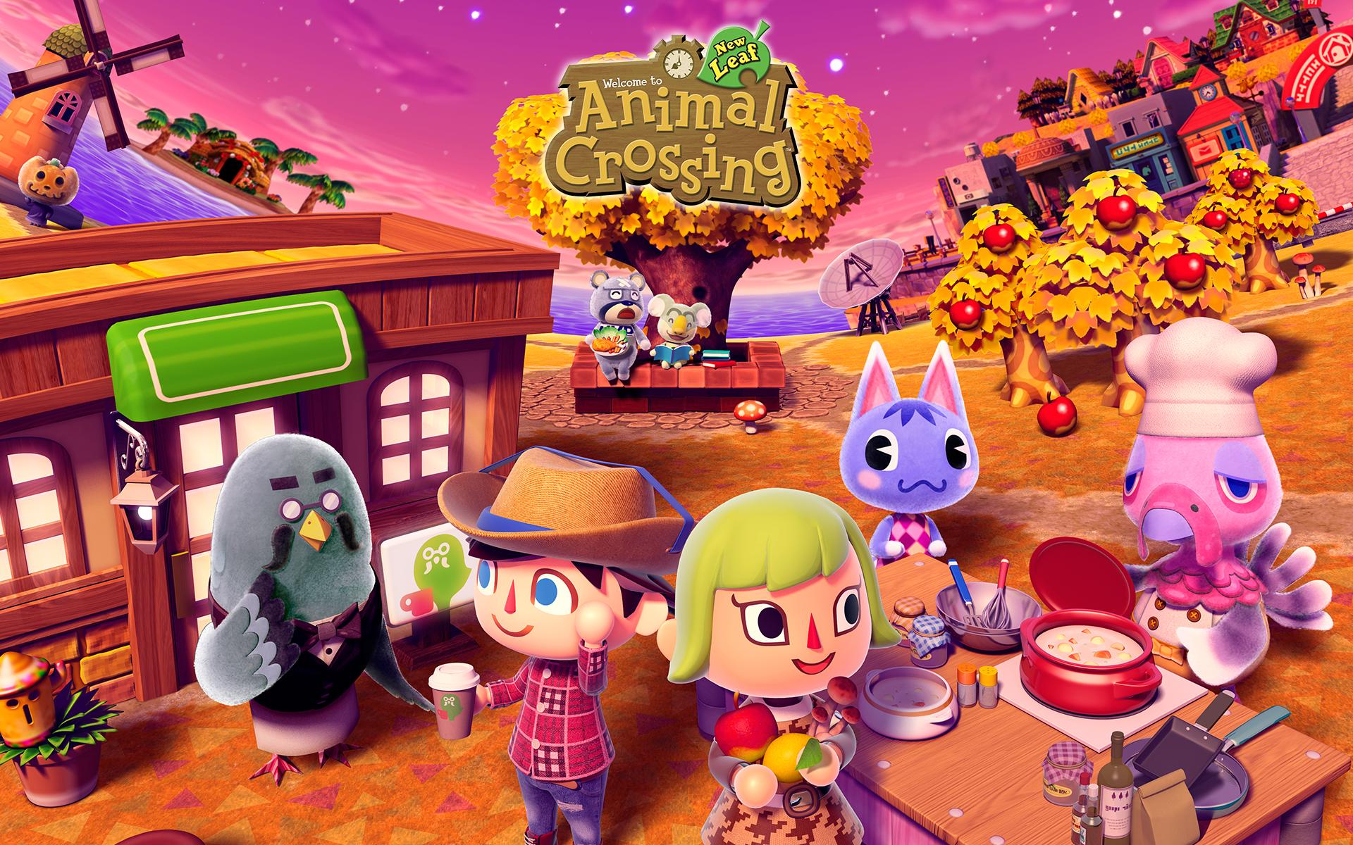 47+ Animal Crossing HD Wallpaper on WallpaperSafari