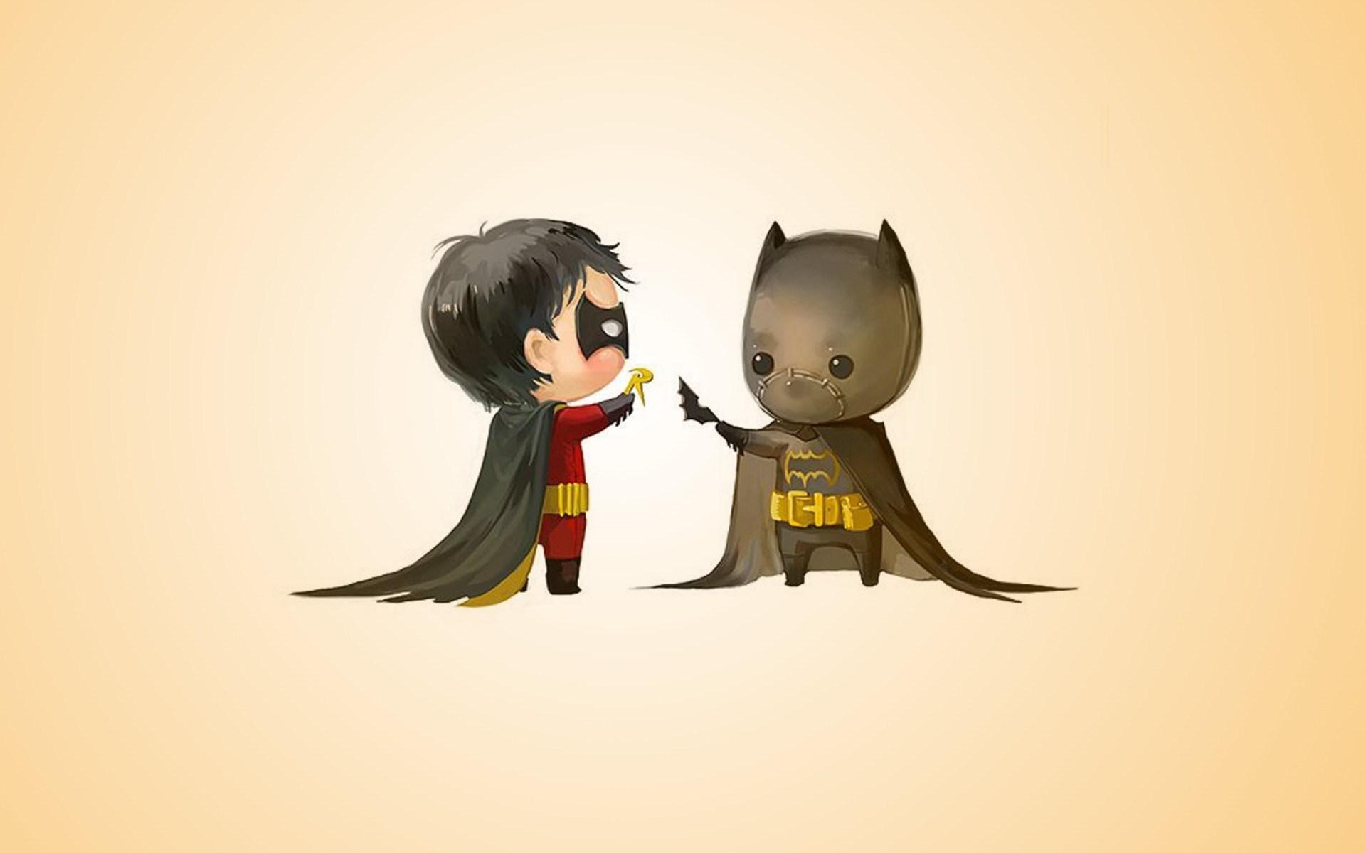 batman and robin cartoon funny cute 1920x1200jpg 1920x1200