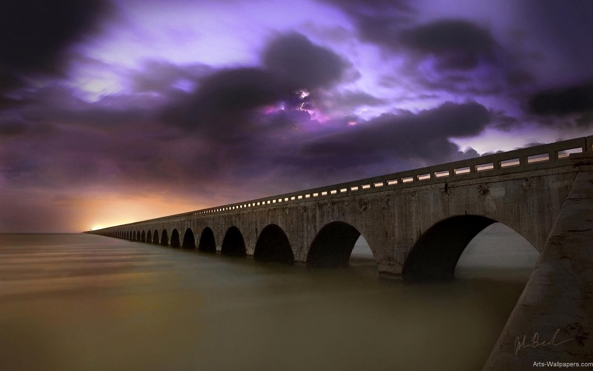 Ultra hd 3d wallpapers 1080p wallpapersafari - Fantasy wallpaper bridge ...