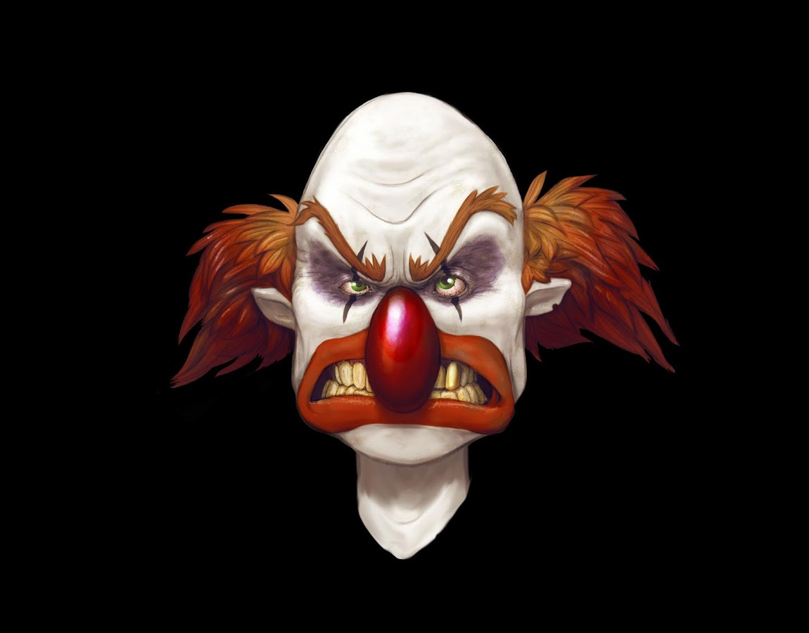 This is an amazing collection of stunning Scary Clown Wallpapers hand 1150x900