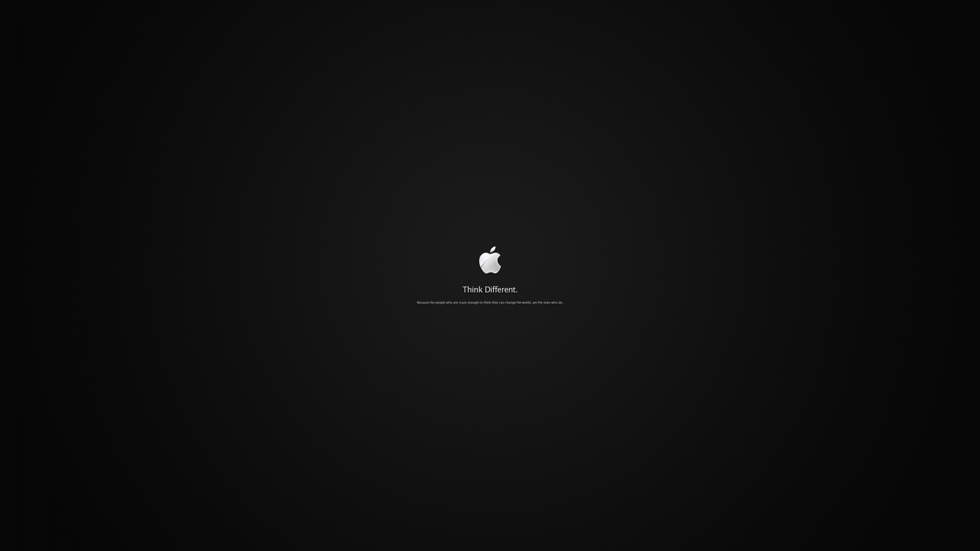 Apple Logo HD WallpaperWelcome To StarChop 1920x1080