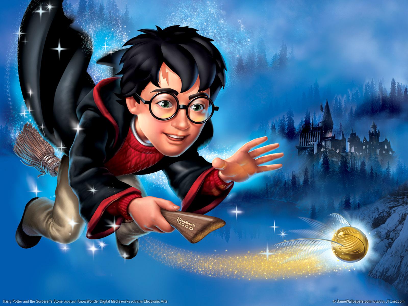 Harry Potter Cartoon Wallpaper Cartoon Images 1600x1200