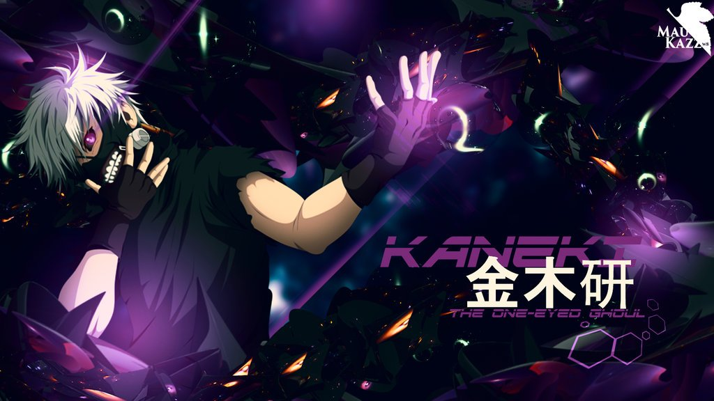 Tokyo Ghoul Kaneki Ken Wallpaper HD 1600x900 by Maukazz 1024x576