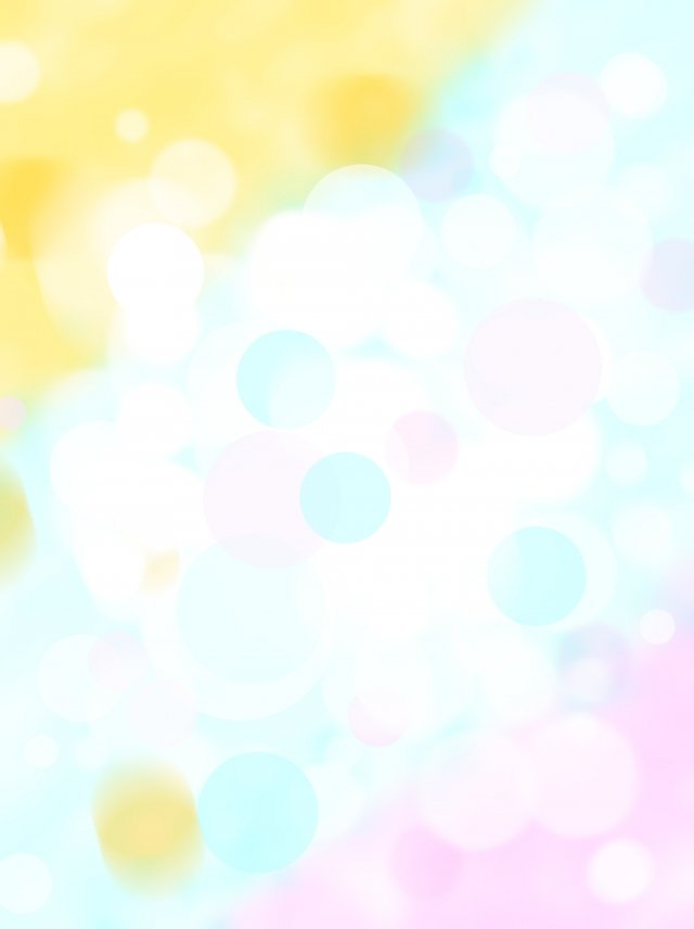 Blue Pink Yellow Dreamy Out Of Focus Light Spot Background Blue 640x856