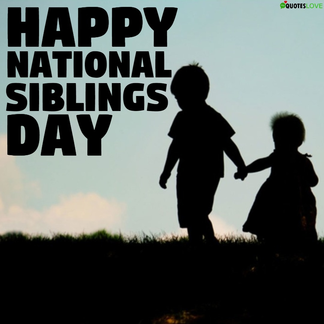 Latest National Siblings Day 2020 Images Photos Pictures Wallpaper 1080x1080