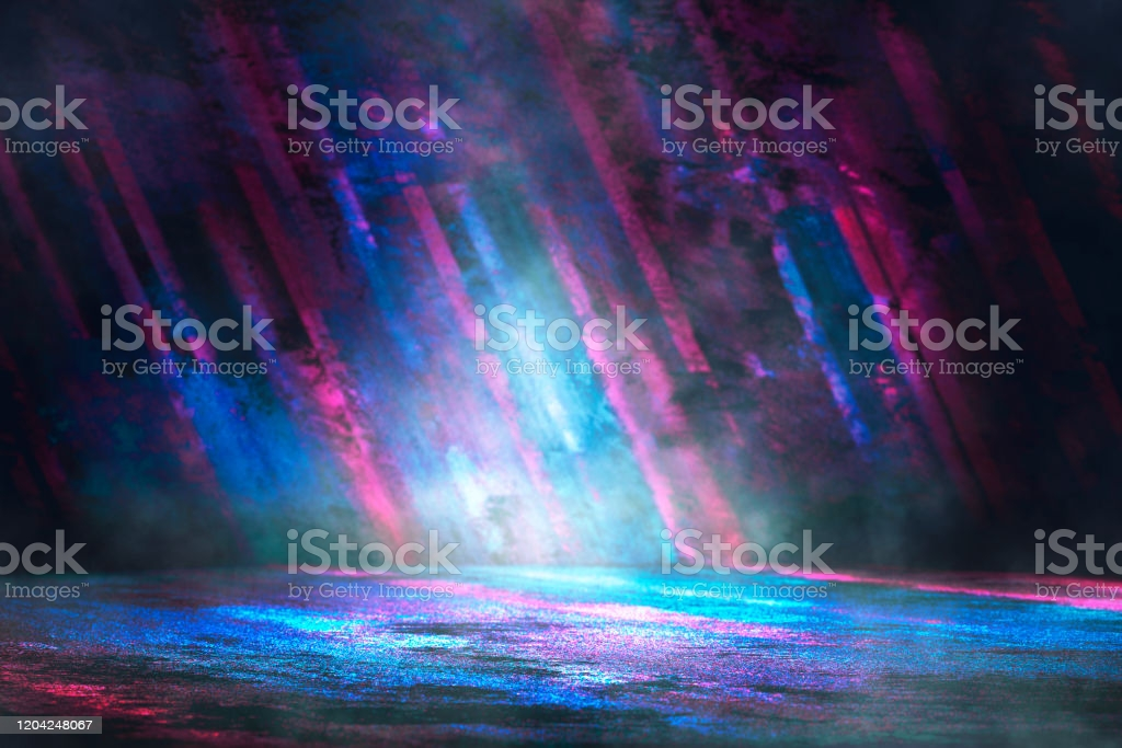Futuristic Gaming Background Or Product Showcase Stock Photo 1024x683
