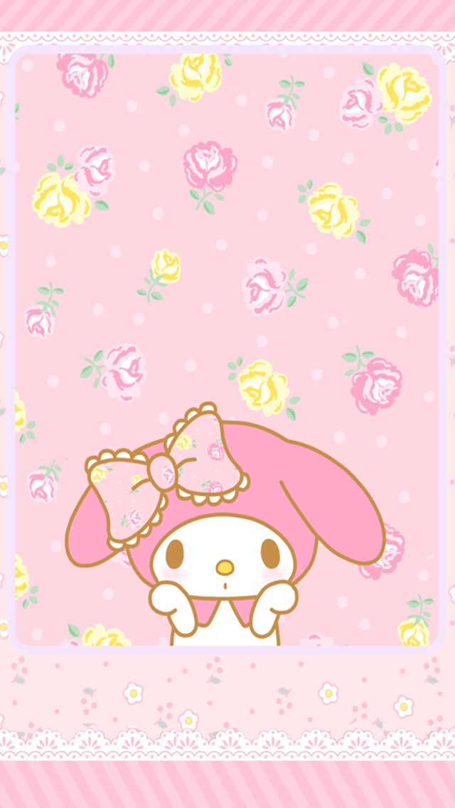 My Melody Wallpaper for iPhone - WallpaperSafari