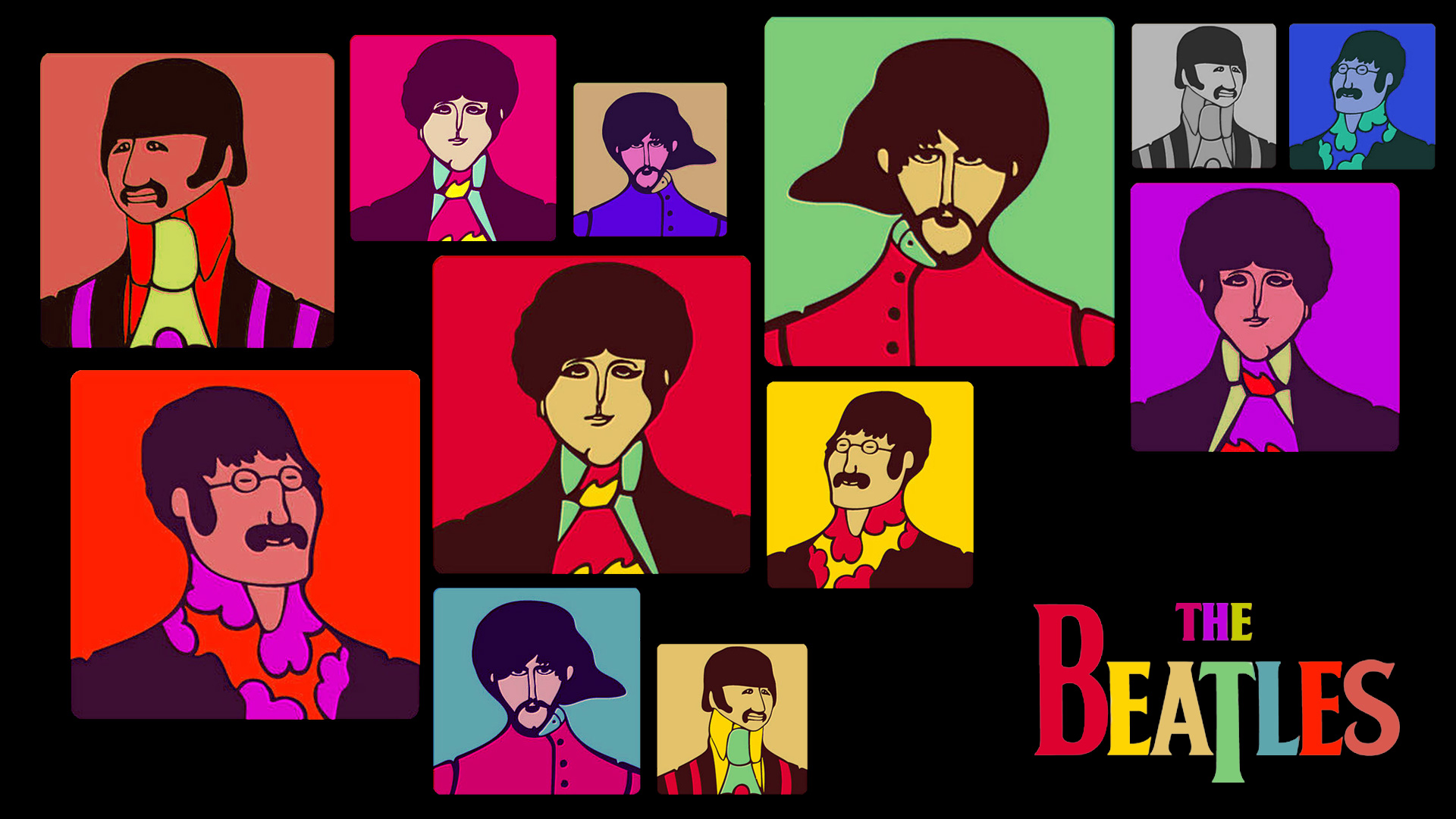 Free Download The Beatles Yellow Submarine Wallpaper By Felipemuve