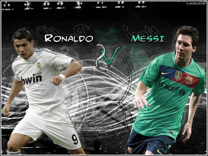 Messi VS Cristiano Ronaldo HD Wallpapers 800x600