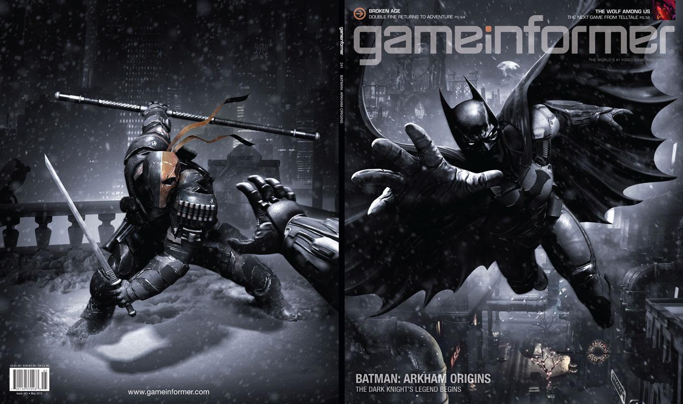 Batman Arkham Origins Game HD Wallpapers Wallpapers Cafe 1352x800