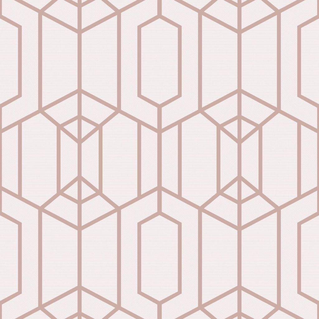 Albany Geo Blush Pink in 2019 Top Trending Wallpaper   Blush 1024x1024