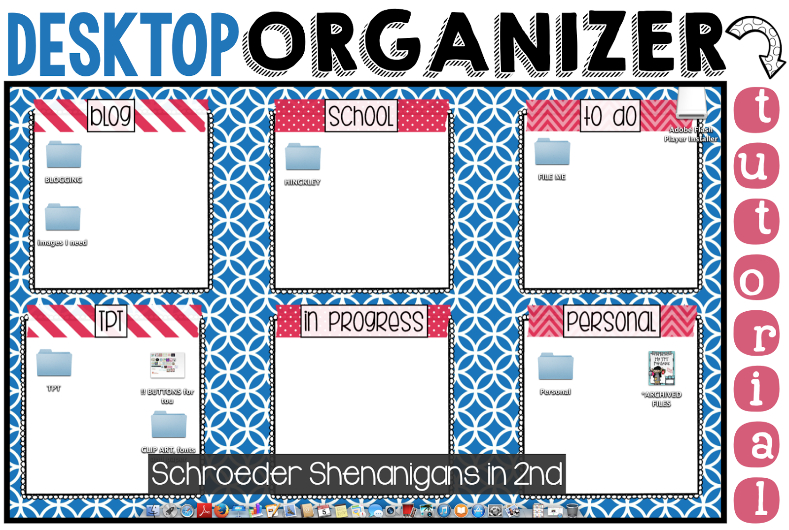Learn How To Create A Desktop Background Organizer For Your Computer 1600x1076