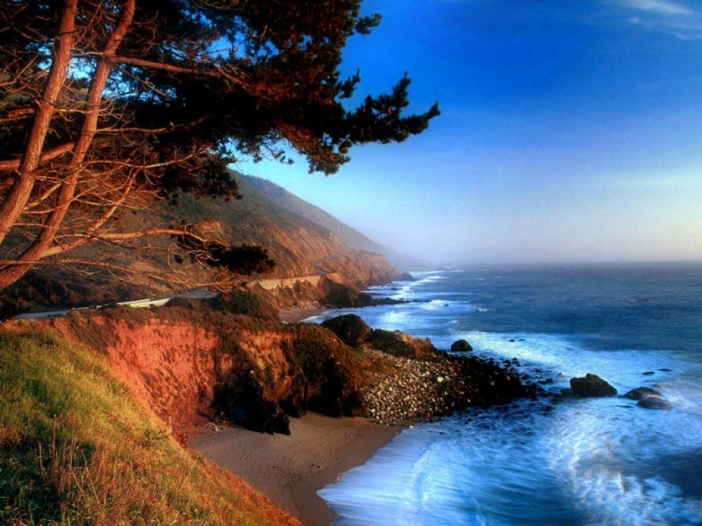 California Big Sur   computer wallpaper 1024x768