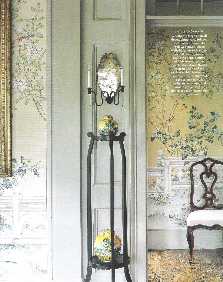 hand painted chinoiserie wallpaper 736x930