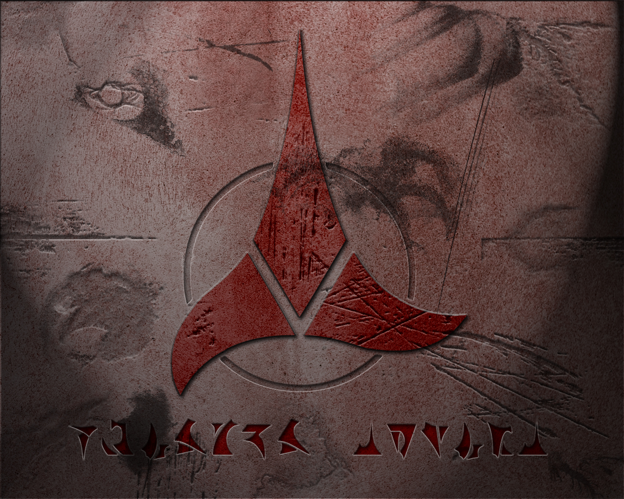 star trek klingon wallpaper by imaximus fan art wallpaper movies tv 1280x1024