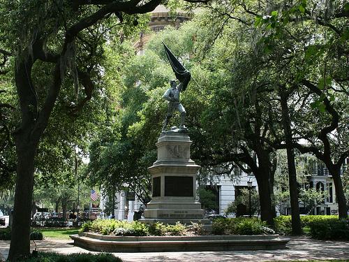 Chippewa Square Savannah Georgia USA Flickr   Photo Sharing 500x375