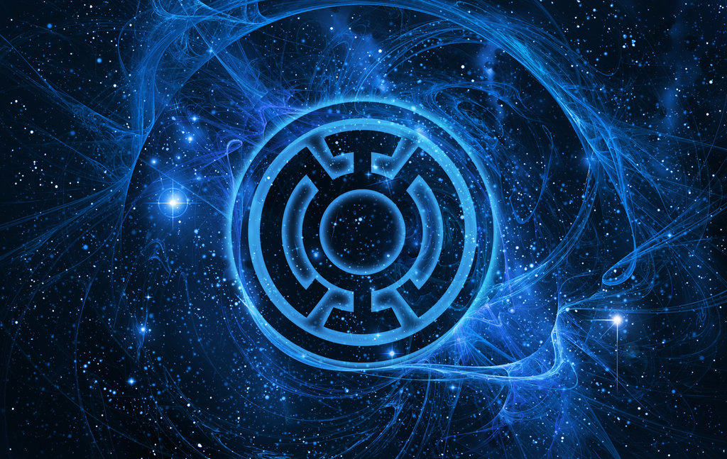 Blue Lantern Corps Wallpaper by Laffler 1024x647