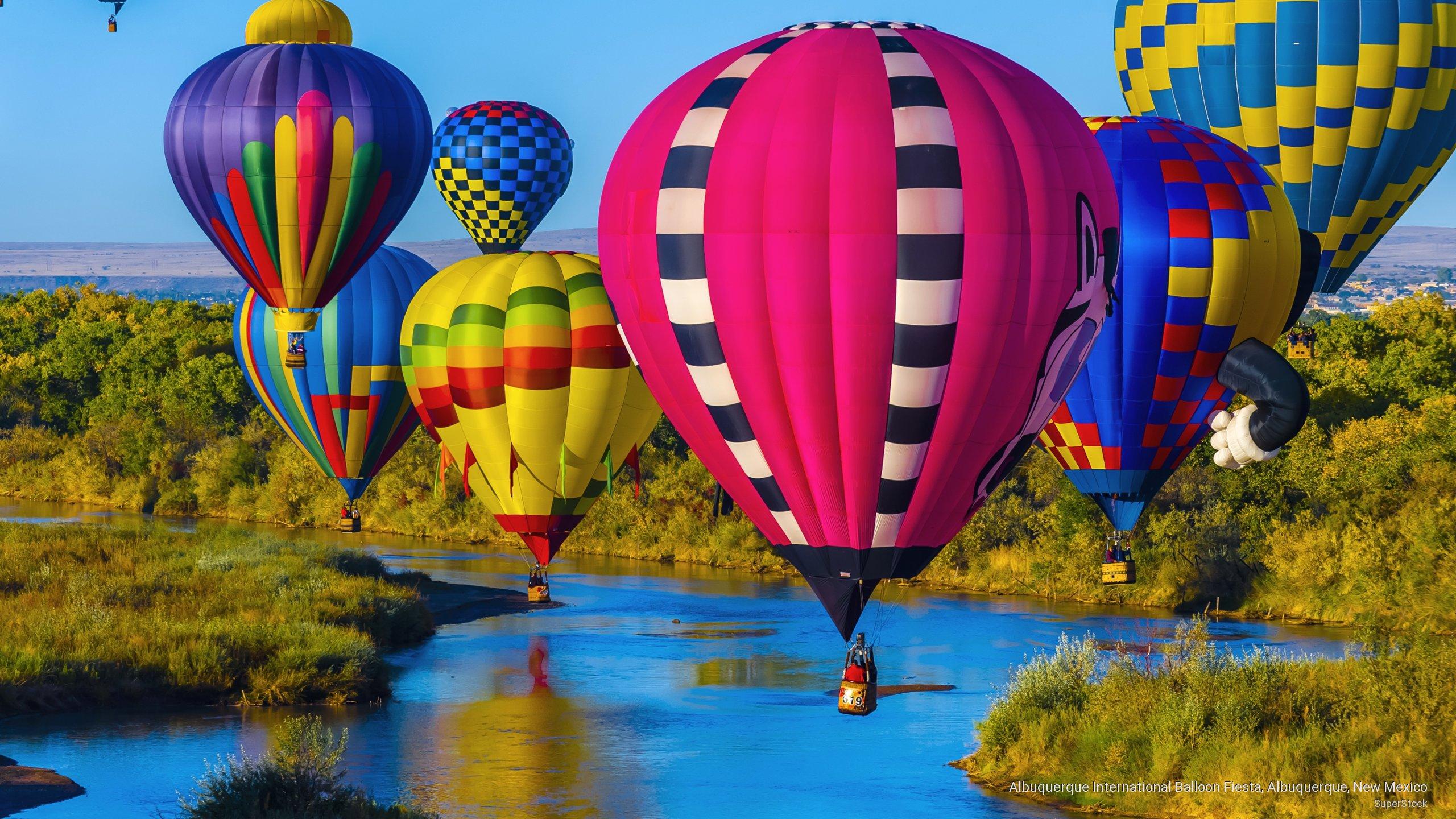 Albuquerque International Balloon Fiesta Albuquerque New Mexico 2560x1440