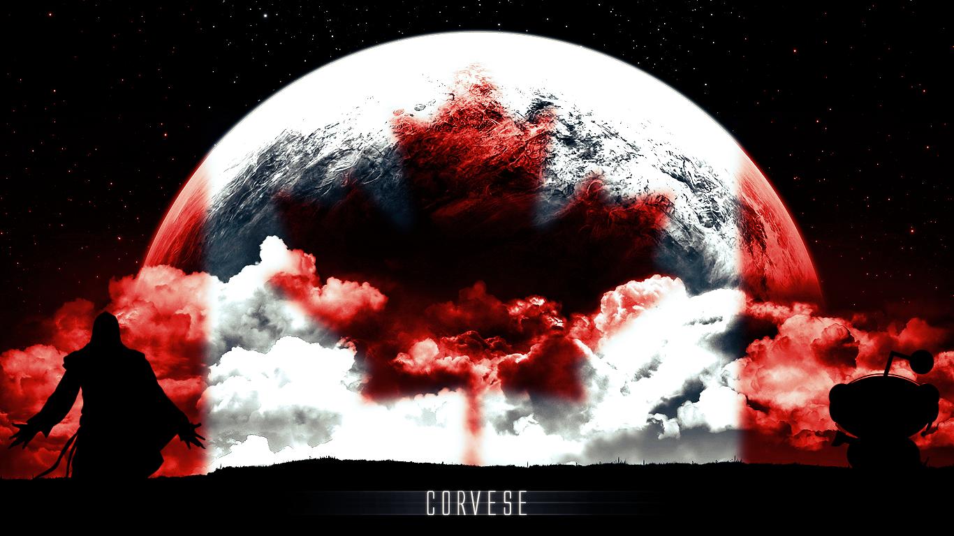 Corvese Canada Wallpaper by JKRewrite 1366x768