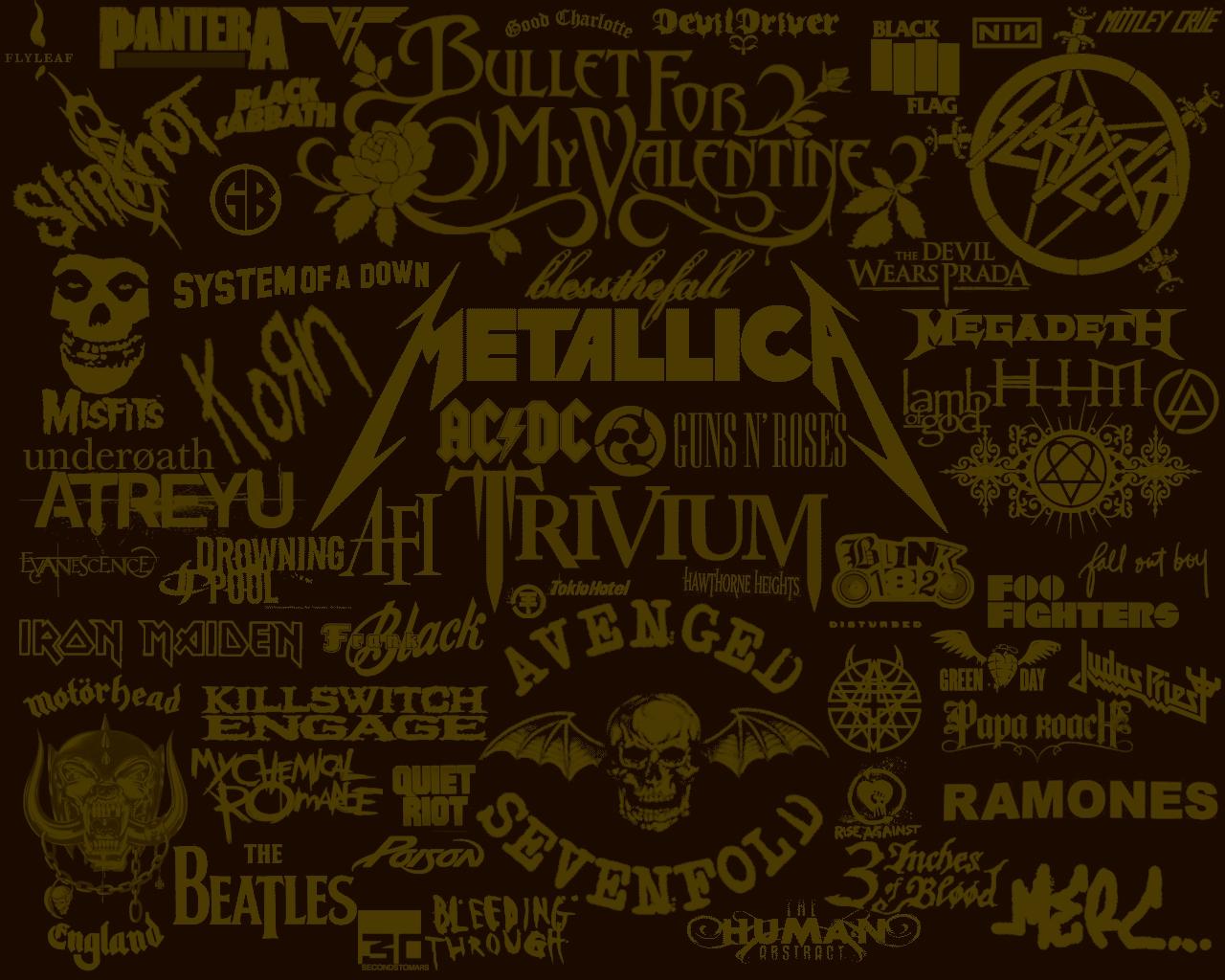 las bandas mas geniales de Rock 1280x1024