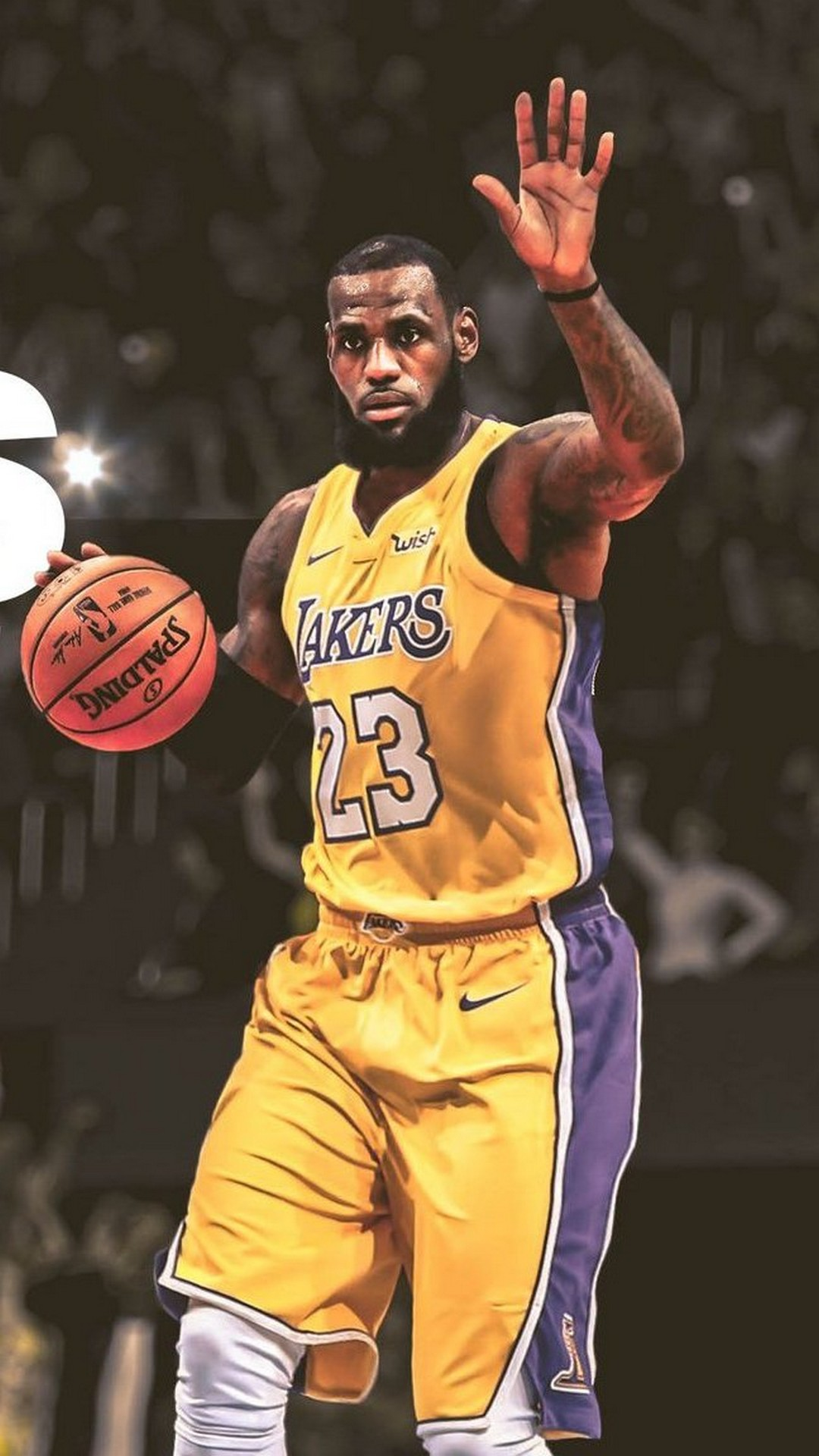 Mobile Wallpapers Lebron James Lakers 2020 3D iPhone Wallpaper 1080x1920