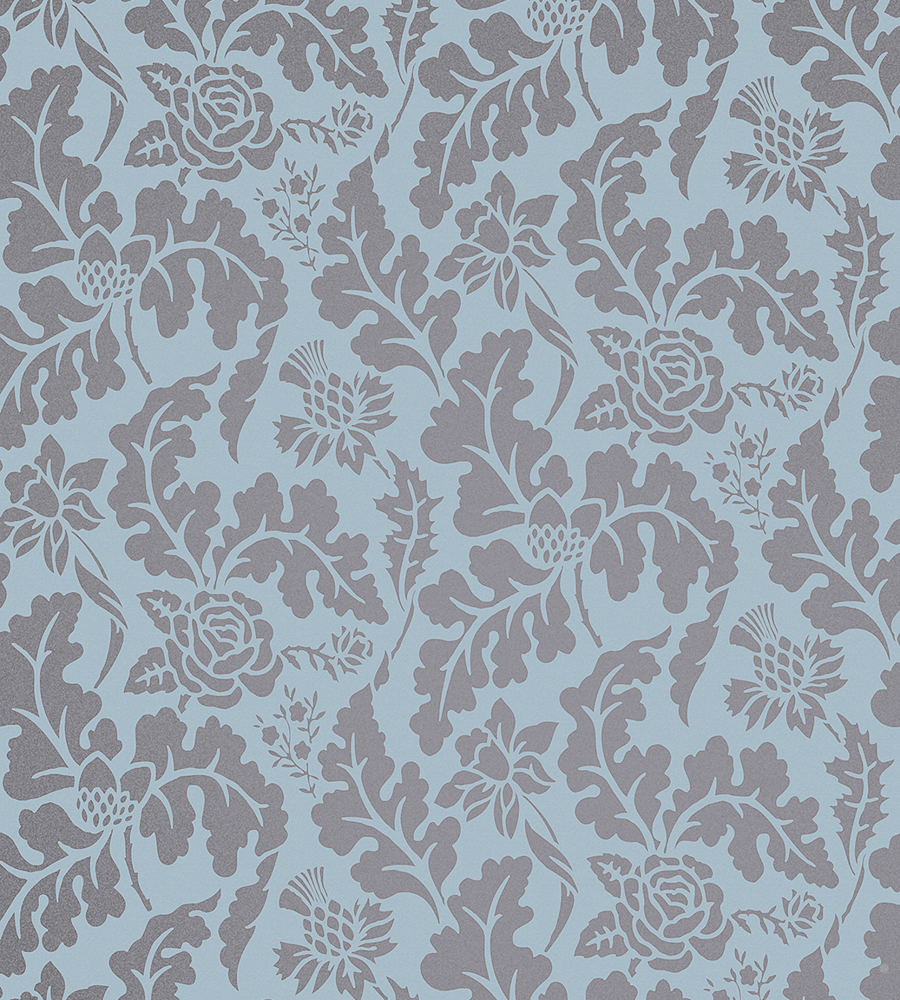 British Isles Damask Wallpaper by Osborne Little Jane Clayton 900x1000