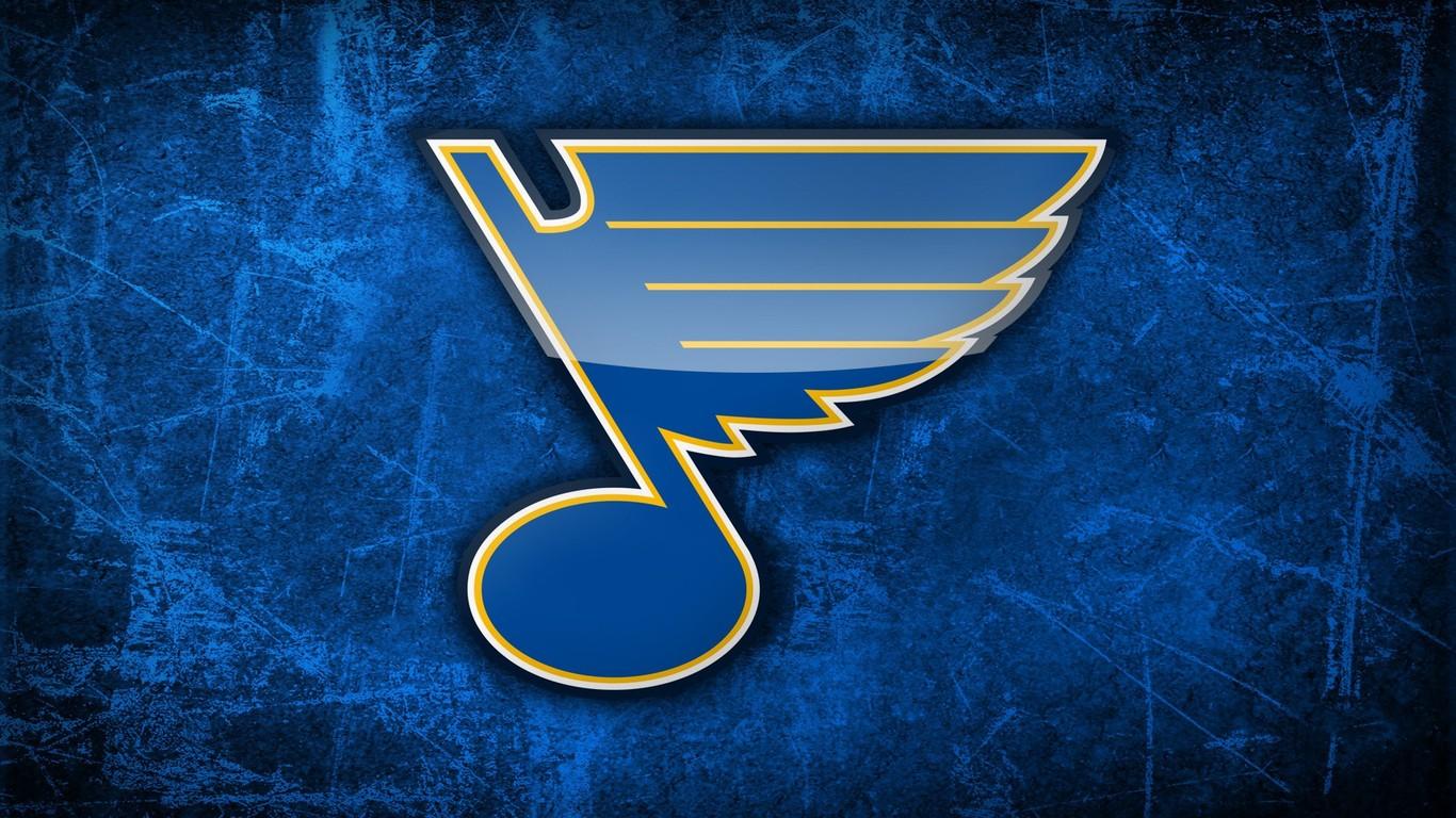 St Louis Blues logo wallpaper 40228 1366x768