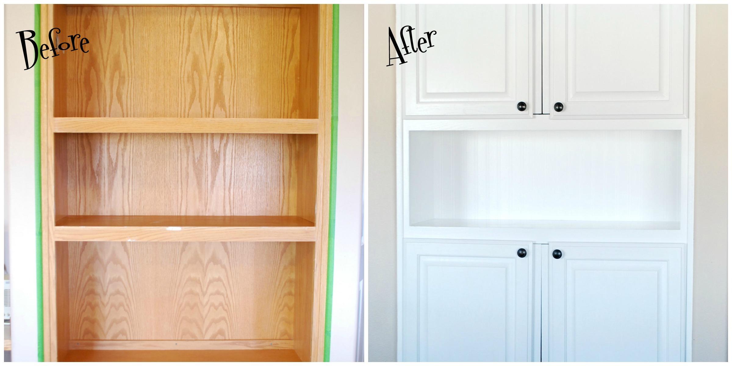 Diy Beadboard Wallpaper Cabinet Doors Diy Ideas