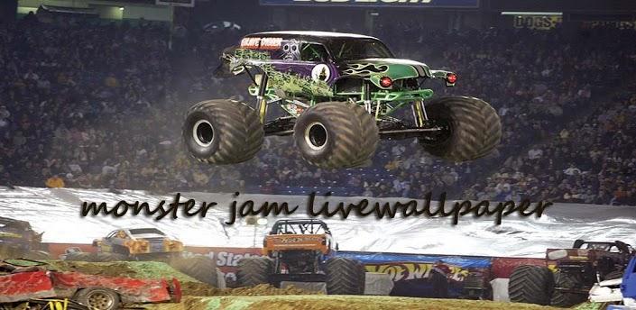 monster jam live wallpaper 705x344