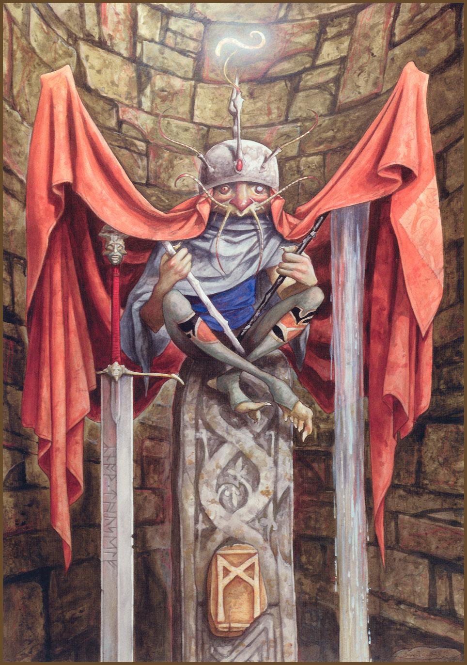 Brian Froud afbeeldingen Companionship [the Runes of Elfland] HD 964x1372