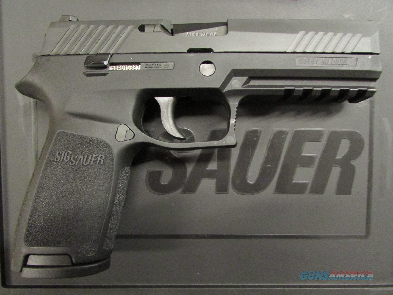 Sig Sauer P320 Full Size Contrast Sights 9mm for sale 1600x1200