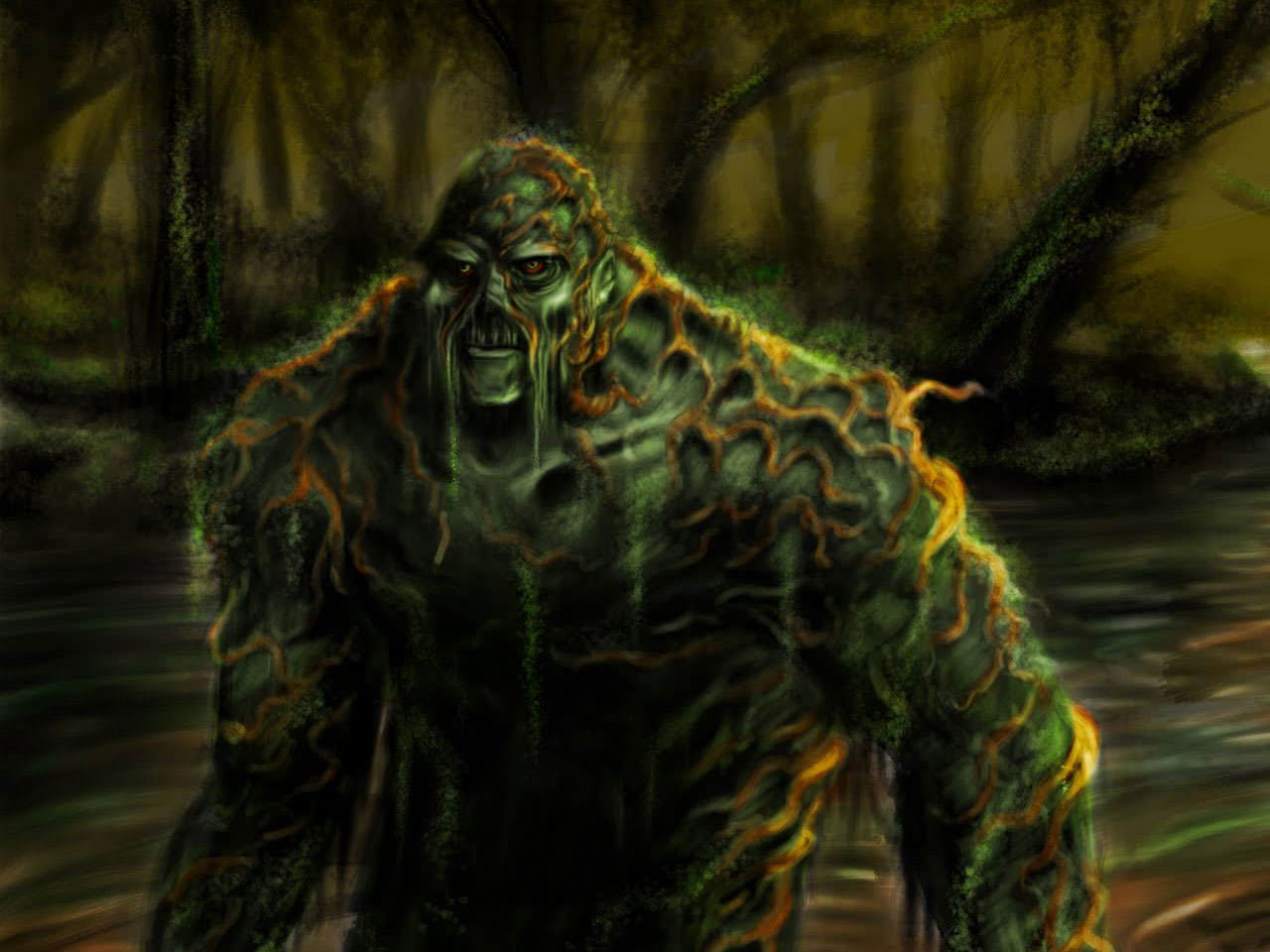 swamp thing wallpaper