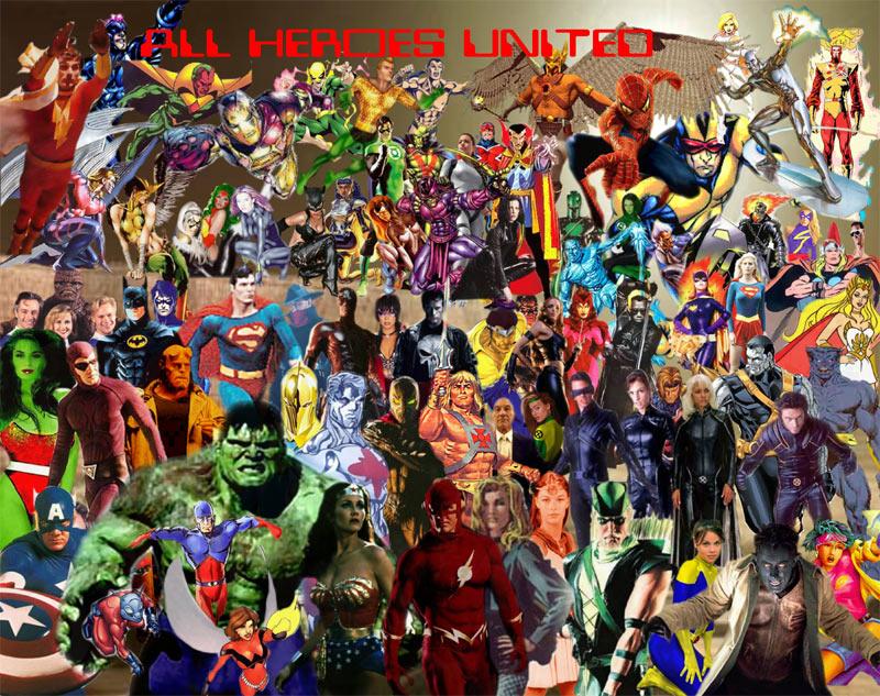 Super Hero Wallpaper 800x633