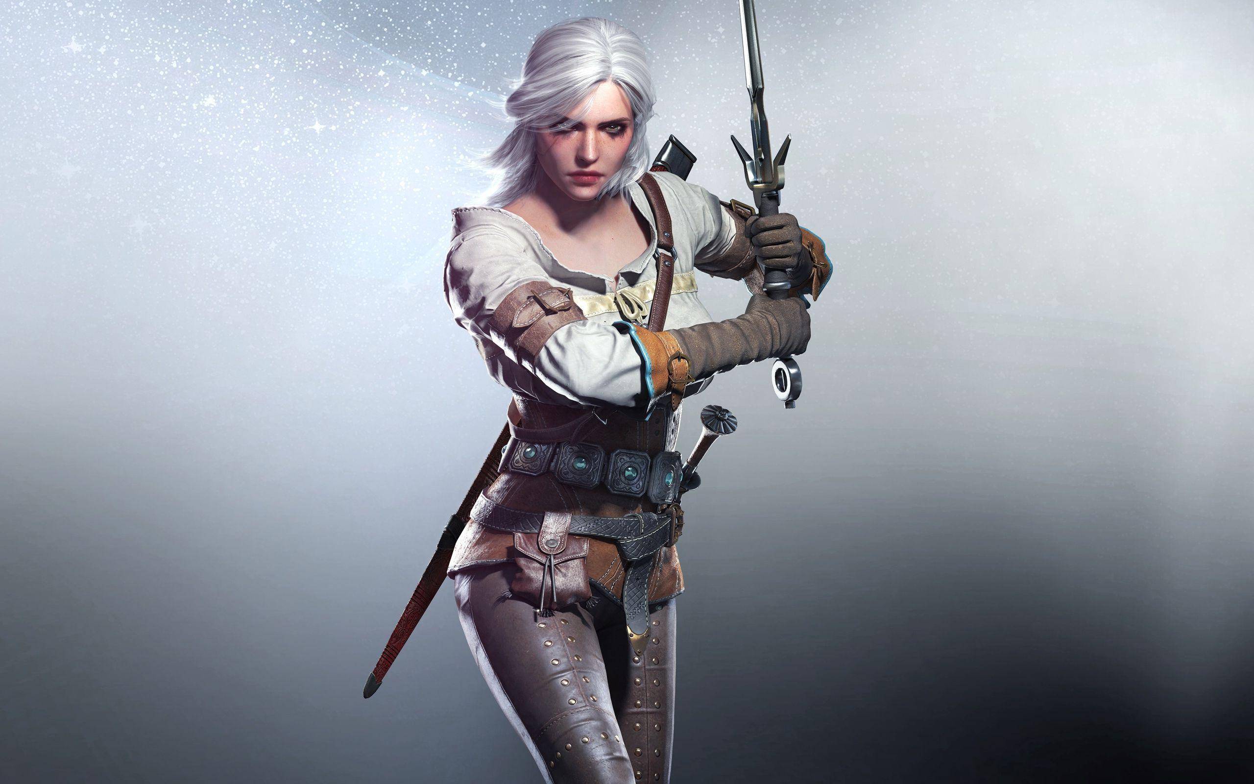 2560x1600 Ciri In The Witcher 3 Wild Hunt Games Wallpaper 2560x1600