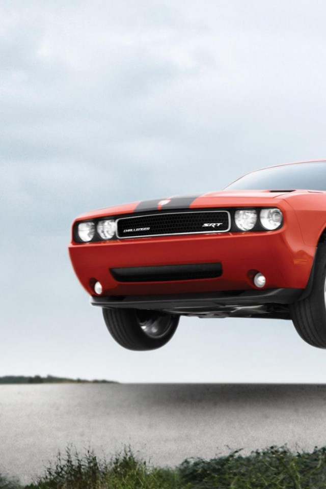 Dodge Challenger SRT8 iPhone 44SiPod   Wallpaper   ImgPrix 640x960