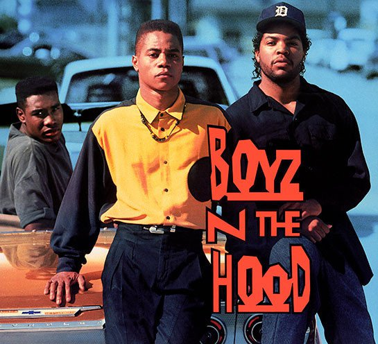 Boys in the hood dont rock wit you Cuba Goodin guys 545x496