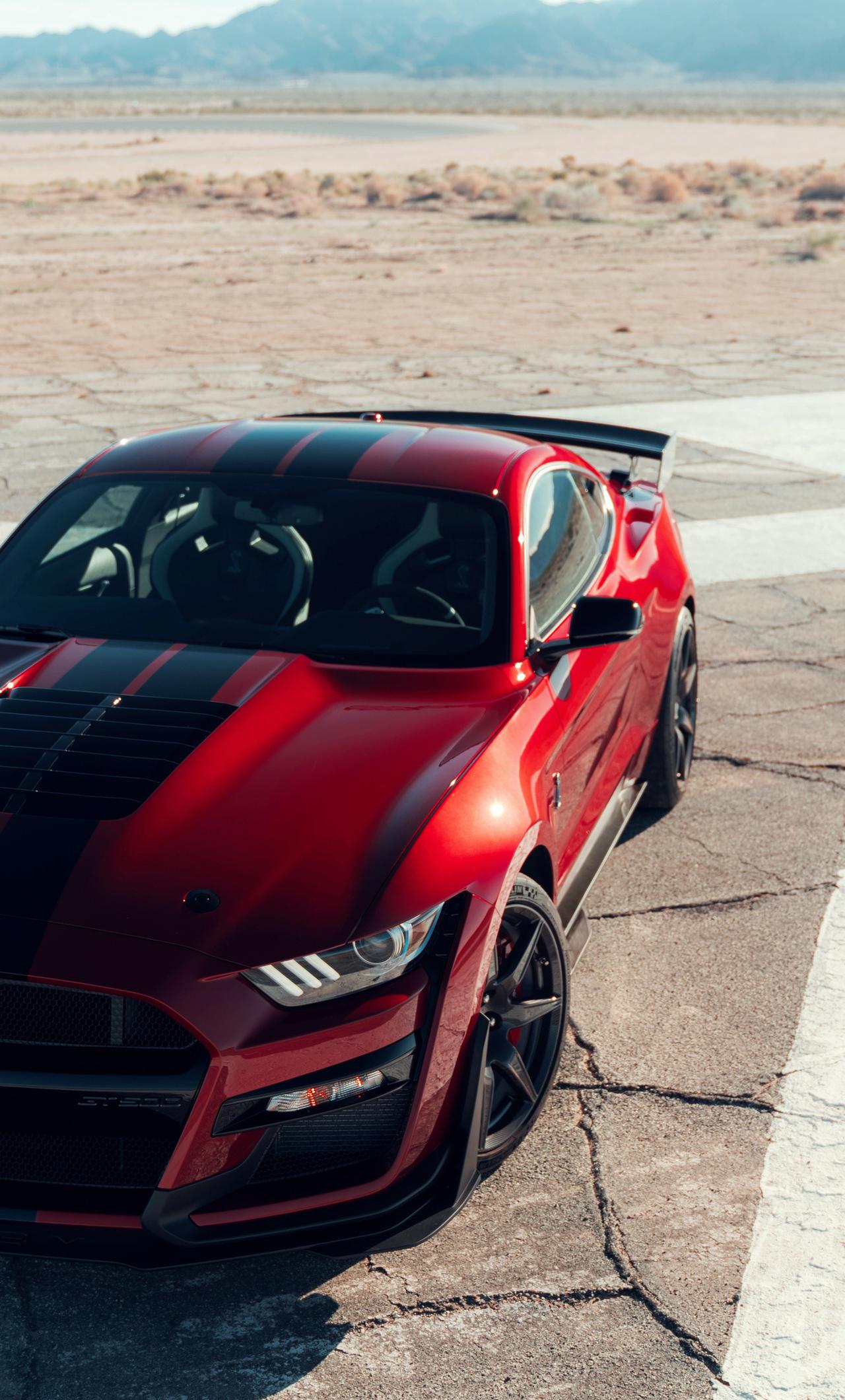 Mustang Car iPhone Wallpapers 1280x2120