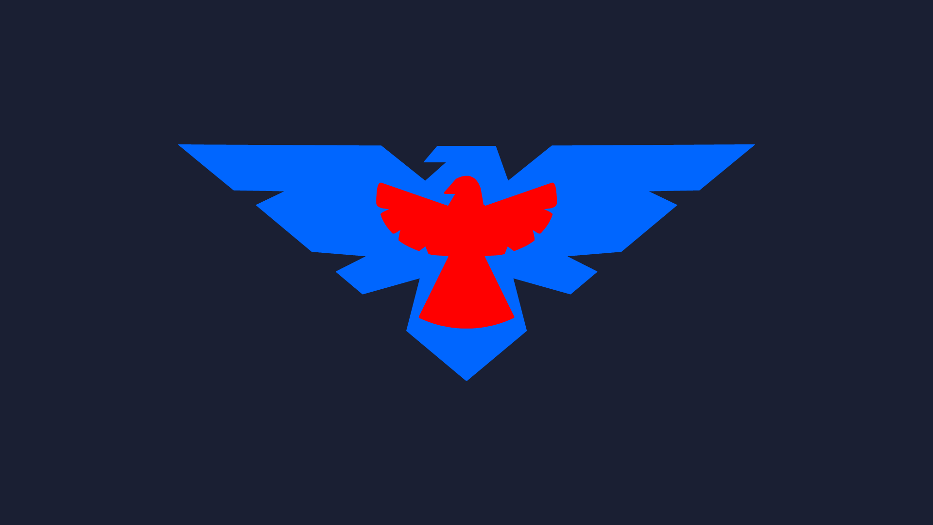 Nightwing Symbol Wallpaper 1920 x 1080nightwing symbol 1920x1080