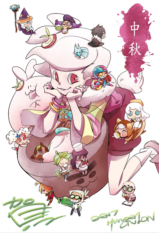 Moon Rabbit Cookie   Cookie Run   Zerochan Anime Image Board 900x1315