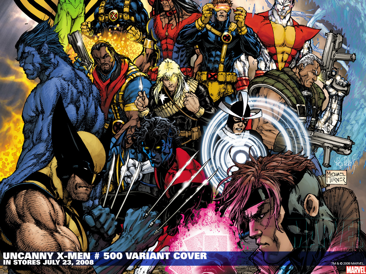 X Men Comic Wallpaper