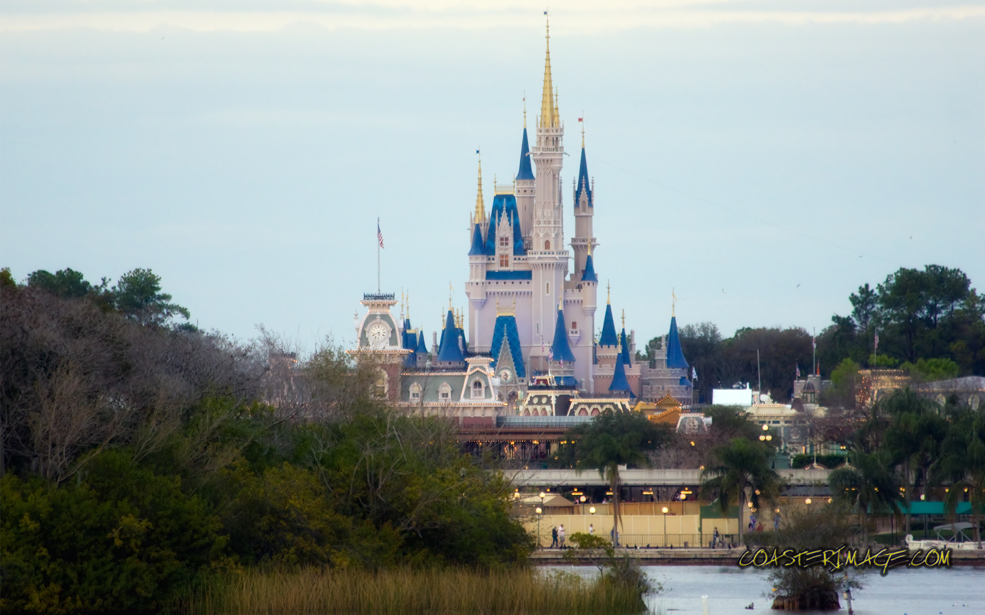 February 1 2009 Walt Disney World Website Magic Kingdom Wallpapers 1920x1200